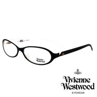 【Vivienne Westwood】經典土星款光學眼鏡(黑/白 VW132_01)