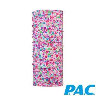 【PAC德國】兒童經典頭巾(PAC8825145小花/抗菌/抗臭/透氣/運動/單車/快乾)