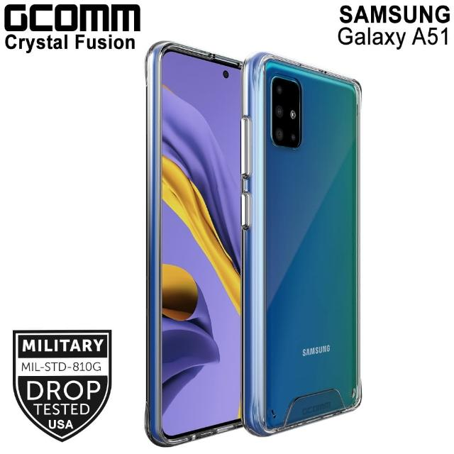 【GCOMM】Galaxy A51 晶透軍規防摔殼 Crystal Fusion(Galaxy A51)