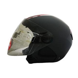 【T-MAO】素色 多色可選 男女通用 造型 3/4罩(安全帽│機車│內襯│鏡片│雙鏡│通用│GOGORO E1)