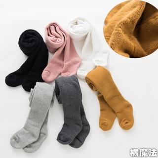 【橘魔法】童裝 加厚毛圈素色褲襪 小中大童褲襪(兒童襪 Baby magic 現貨 保暖襪 女大童)
