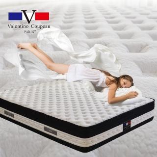 【范倫鐵諾‧古柏】旗艦恆溫親水棉加高型獨立筒床墊(雙人5尺)