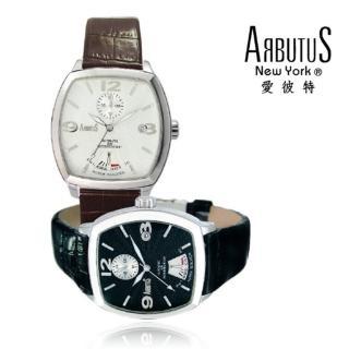 【ARBUTUS 愛彼特】網狀錶面機械皮帶腕錶 AR0061P