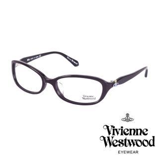 【Vivienne Westwood】經典土星環光學眼鏡(深紫 VW263_04)
