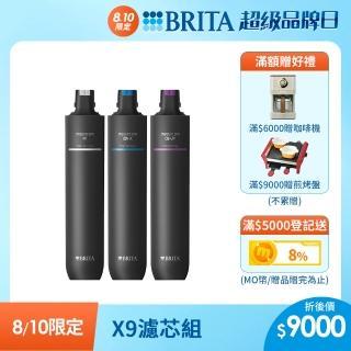 【德國BRITA】mypure pro X9 濾芯組