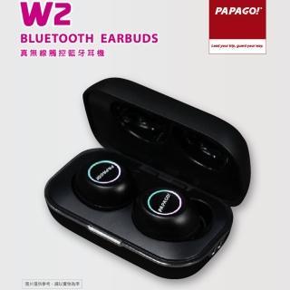 【PAPAGO!】W2 真無線直覺式觸控藍牙耳機