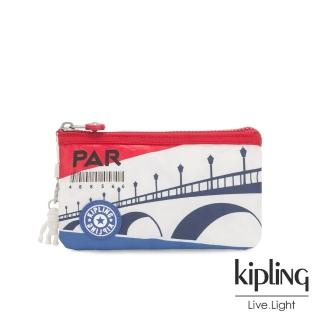 【KIPLING】浪漫巴黎左岸三夾層配件包-CREATIVITY L
