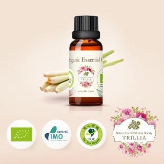 【Trillia】雙有機NANFY香茅精油(30ml)