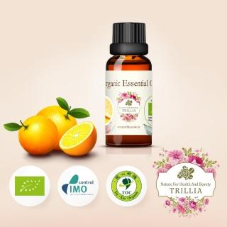 【Trillia】雙有機NANFY甜橙精油(30ml)