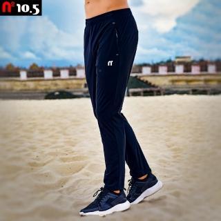 【N10.5】針織彈力透氣速乾運動休閒平口長褲 N20J25110-99(針織男運動長褲)