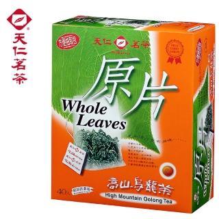 【天仁茗茶】天仁高山烏龍茶原片袋茶40入
