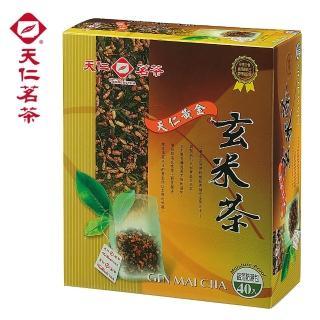 【天仁茗茶】天仁黃金玄米茶袋茶40入