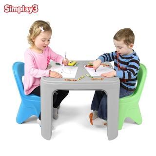 【美國Simplay3】可愛桌椅組(家家酒必備玩具)