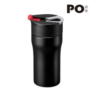 【PO:Selected】丹麥便攜法壓保溫咖啡杯12oz(紅)