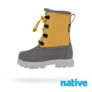 【native】大童鞋 JIMMY 3.0 小獵鴨靴(芥末黃x灰)