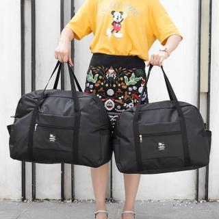 【WEEKEIGHT】可登機防潑水耐磨耐用旅行袋(大/行李箱拉桿適用)/