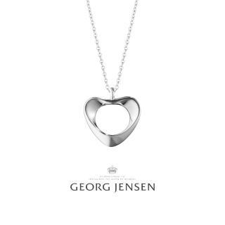 【Georg Jensen 喬治傑生】HEARTS OF GEORG JENSEN 鍊墜 項鍊 小(10011742)