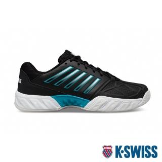 【K-SWISS】輕量 進階網球鞋 Bigshot Light 3-男-黑/藍(05366-029)
