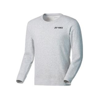 【YONEX】Yonex  男女款 長袖 上衣 運動 舒適 透氣 吸汗 速乾 防曬 保暖 麻花灰(130099BCR275)