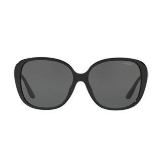 【VOGUE】太陽眼鏡都會休閒款框黑色鏡片(5114SD-W4487)
