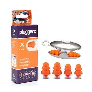 【Pluggerz】荷蘭進口 飛行耳塞 聲音濾波器 1大1小2副裝(耳塞   飛行耳塞 聲音濾波器)