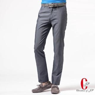 【JYI PIN 極品名店】頂尖質感水洗休閒褲_灰藍(HS833-1)