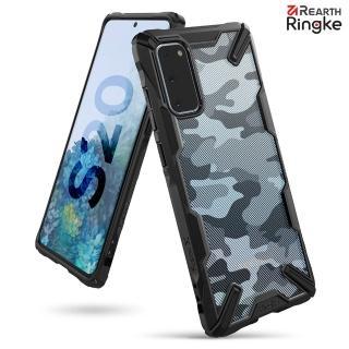 【Ringke】Rearth 三星 Galaxy S20 [Fusion X Design] 透明背蓋防撞手機殼(Galaxy S20 透明防撞手機殼)