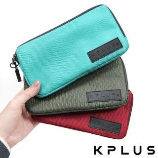 【KPLUS】防潑水騎行小包Plus加長款-適用iPhone7+/8+/X/11/11Pro-三色(手機袋 卡夾 卡套 行動電源)
