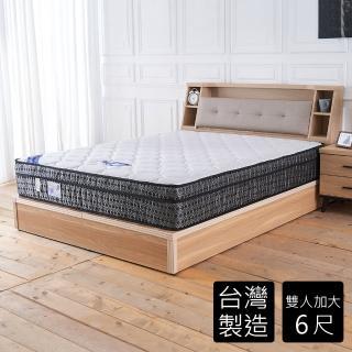 【時尚屋】克萊斯皇家三線6尺加大雙人獨立筒床墊BD81-11-6(免運費 免組裝 台灣製)