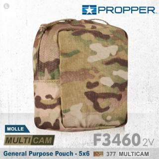 【Propper】General Purpose Pouch 各式包款 F3460_2V_377(5x6 MULTICAM 多用途收納包)