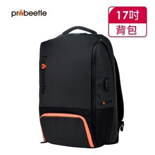 【Probeetle 波比多】17吋 超輕量雙肩後背包 SN77880(黑色)