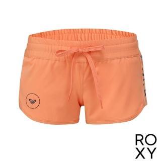 【ROXY】女款 女泳裝 海灘褲 褲子 短褲 ROXY FREE(珊瑚紅)