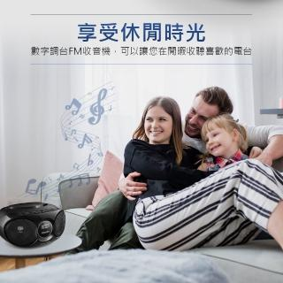 【Philips 飛利浦】手提CD/MP3/USB播放機(AZ318B/96)