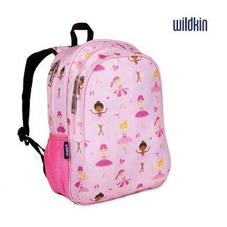 【Wildkin】兒童後背包/雙層式便利書包(芭蕾舞女孩14901)