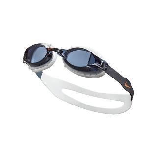 【NIKE 耐吉】兒童泳鏡 CHROME訓練型鏡面 灰 NESSA188-014(男女童泳鏡)