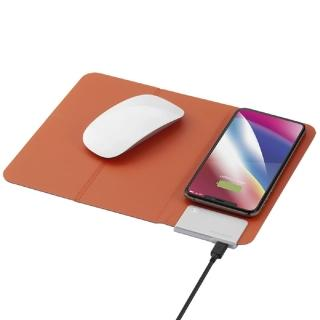 【Momax】Q.Mouse Pad 無線充電墊QM2(無線充電滑鼠墊加手機支架)