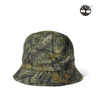 【Timberland】中性橄欖綠迷彩印花漁夫帽(A1F2C360)