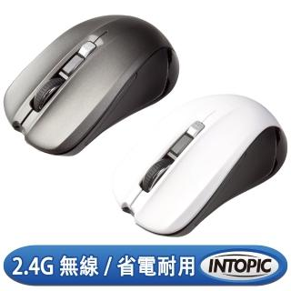 【INTOPIC】2.4GHz飛碟無線光學滑鼠(MSW-720)