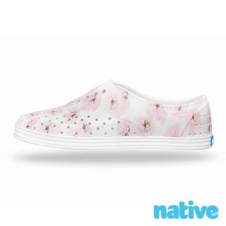 【native】JERICHO 女鞋(貝殼白x茱萸花)