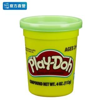 【PLAYDOH 培樂多】補充罐系列(無毒 單罐黏土4oz-草綠色 B6756)
