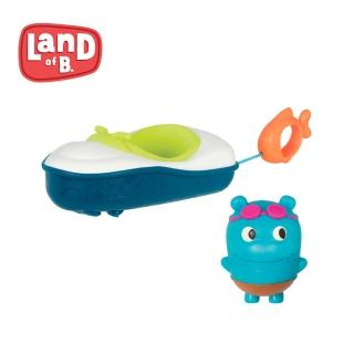 【B.Toys】噗拉魚動力小艇_Land of B.系列