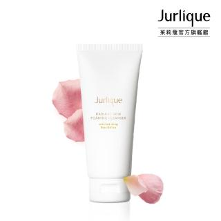 【Jurlique 茱莉蔻】玫瑰煥顏泡沫潔顏乳 Radiant Skin Foaming Cleanser 80g(溫柔洗淨)