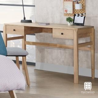 【Hampton 漢汀堡】伊唯系列全實木書桌(一般地區免運費/書桌/桌子/辦公桌)