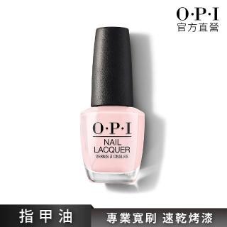 【O.P.I】官方直營。輕甜女伶 指甲油│輕柔光彩系列(NLT65)