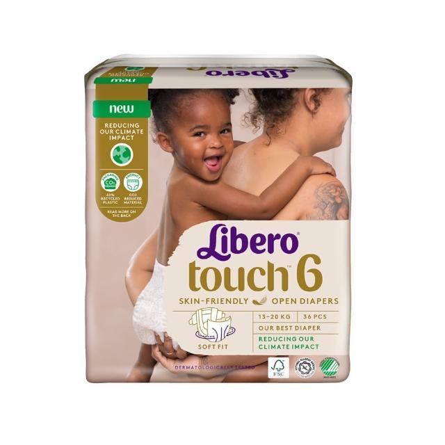 【麗貝樂】Touch嬰兒紙尿褲6號(XL-38片)/
