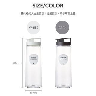 【LocknLock樂扣樂扣】PET扣環輕鬆手提冷水壺1500ml(2色任選)