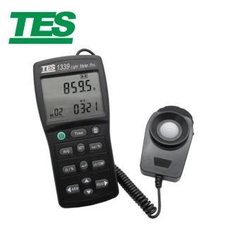 【TES 泰仕】專業級照度計 TES-1339(照度計)