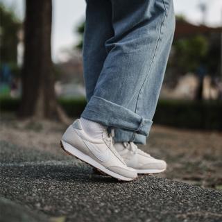 【NIKE 耐吉】休閒鞋 Daybreak 復古 運動 女鞋 經典款 簡約 麂皮 穿搭 球鞋 米白 白(CK2351-101)