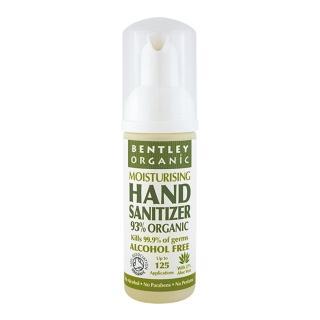 【Bentley Organic】有機泡沫乾洗手 不含香料 50ml(英國有機認證 不乾手)