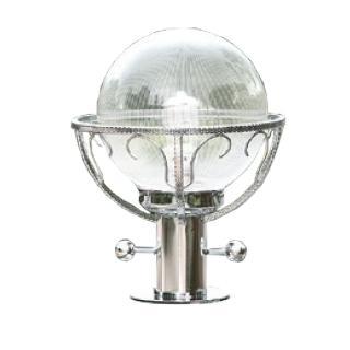 【大巨光】台製現代風1燈門柱燈(LW-09-5859)